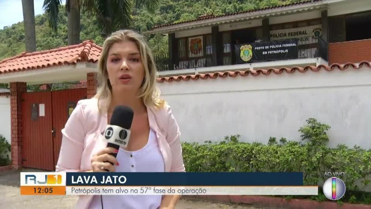 Petrópolis, RJ, tem alvo na 57ª fase da operação Lava Jato