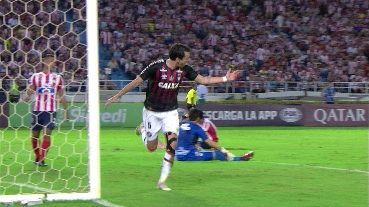Melhores momentos: Junior Barranquilla 1 x 1 Atlético-PR pela Final da Copa Sul-Americana