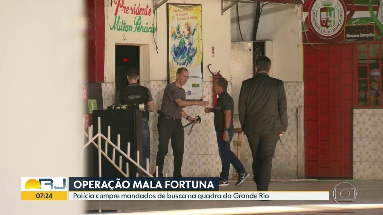 Polícia faz operação contra o jogo do bicho