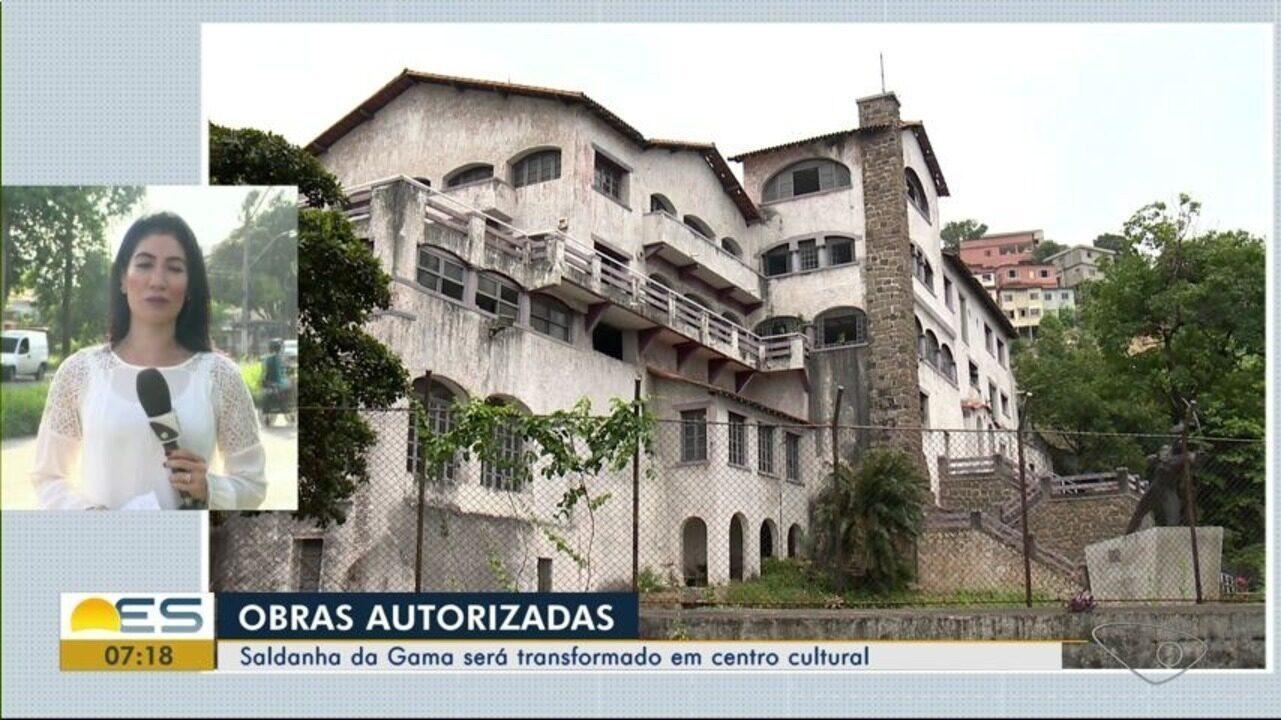 Obras para transformar o Saldanha da Gama em centro cultural são autorizadas, em Vitória