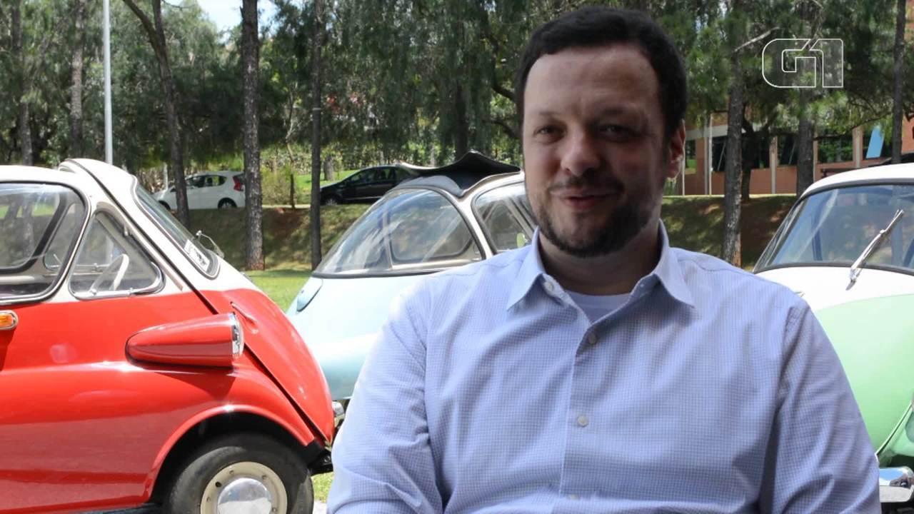 Colecionador de Romi-Isetta possui 5º carro mais antigo produzido no Brasil