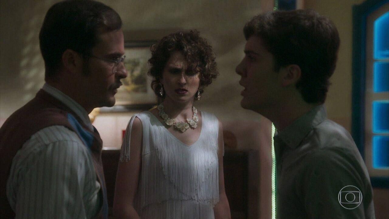 Guilherme encontra João Inácio no cabaré