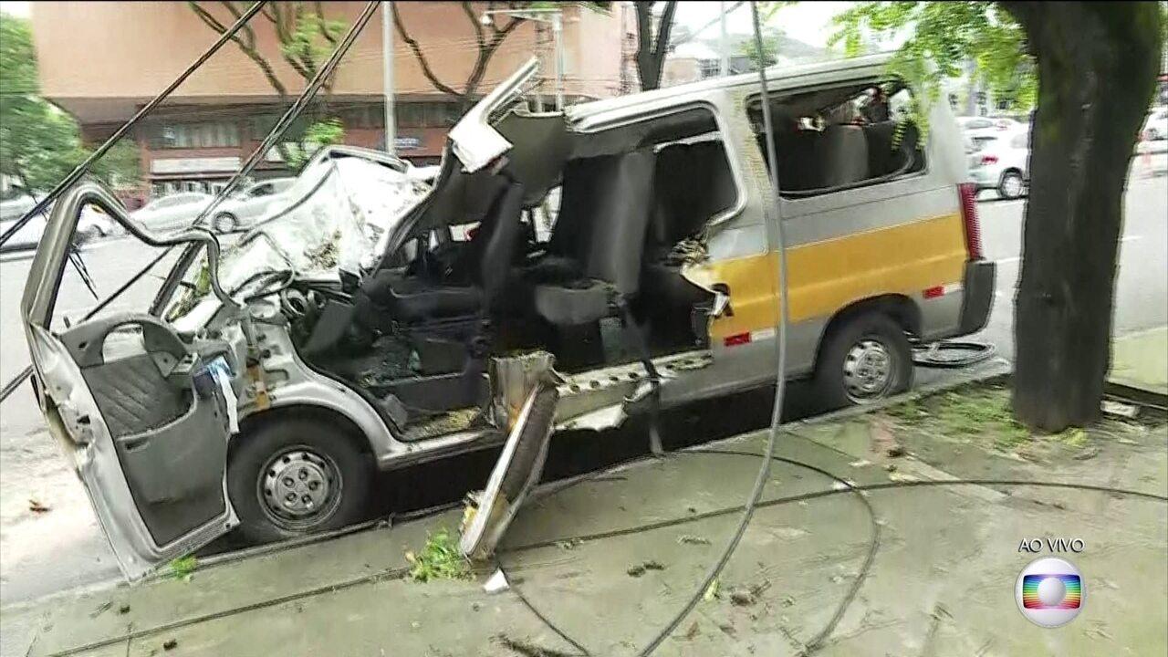 Uma pessoa morre em temporal em Belo Horizonte