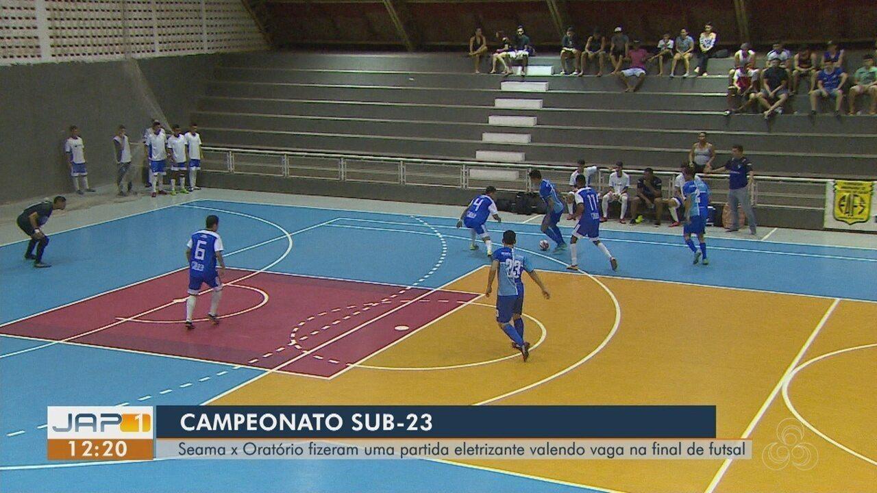 Seama vence o Oratório e vai para a final do Campeonato Sub-23 de Futsal, no Amapá