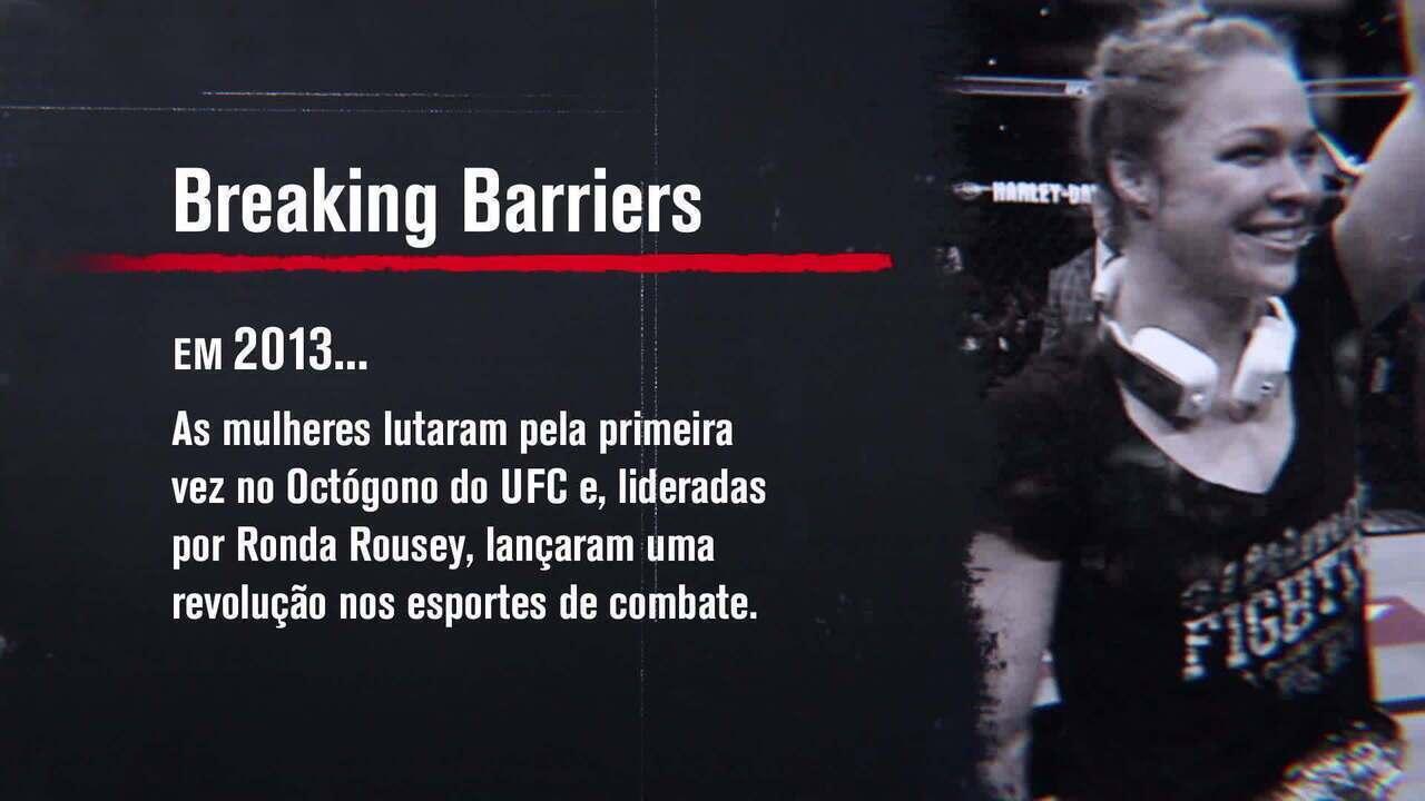 Breaking Barriers  A história de Ronda Rousey e a ascensão do MMA feminino. ac7af2a5d734e