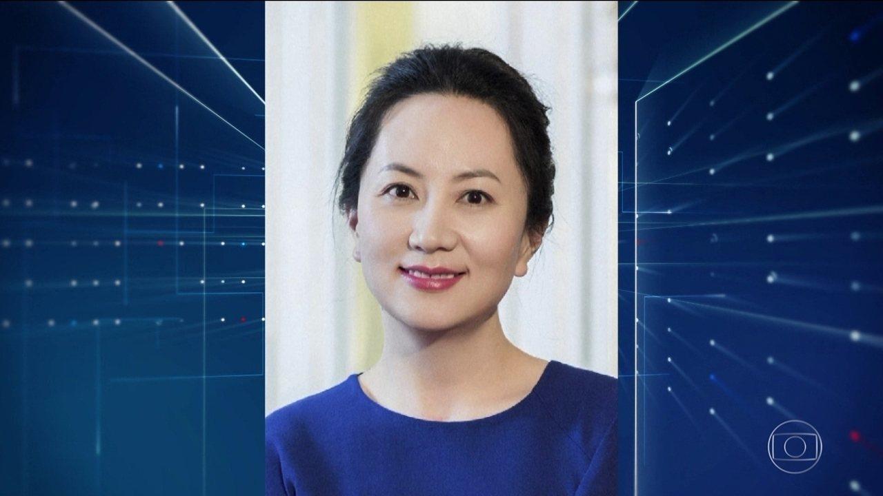Executiva chinesa da Huawei foi presa por fraudes, diz Justiça do Canadá