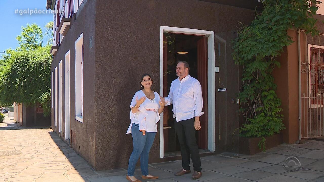 Shana Müller visita o bairro Hamburgo Velho, em Novo Hamburgo, no De Mala e Cuia