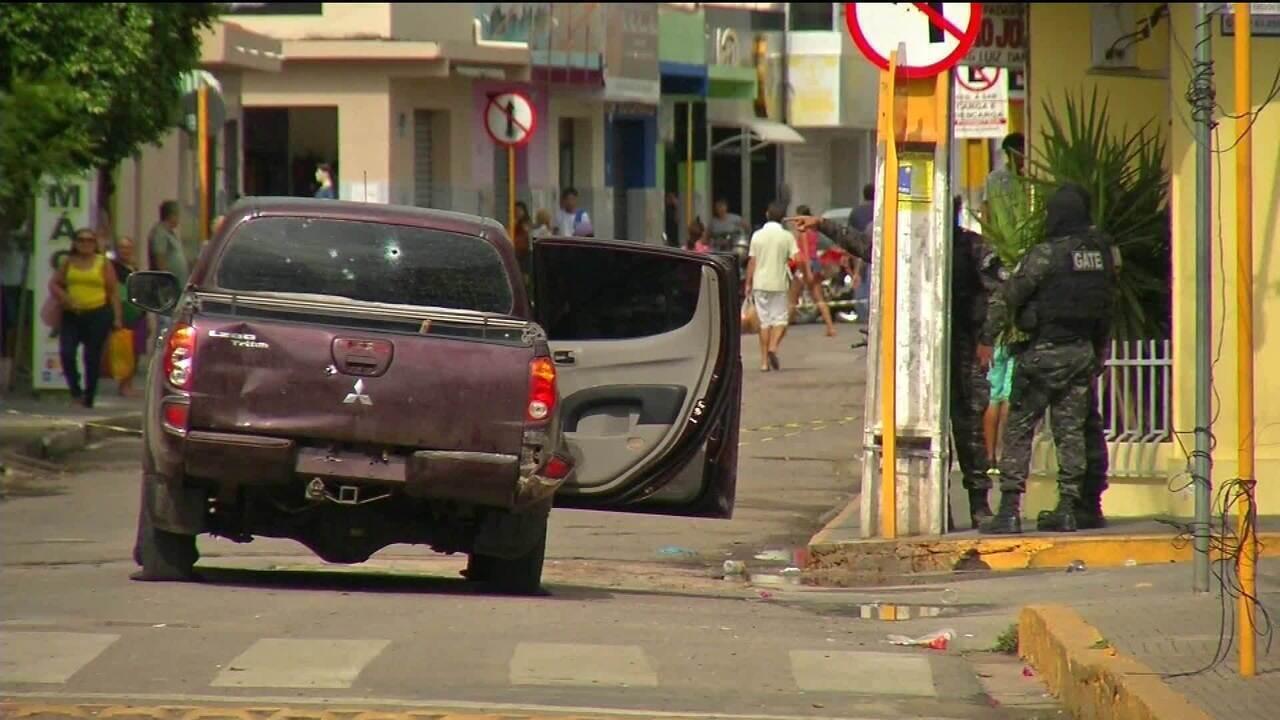 Tentativas de assaltos a bancos deixam 14 mortos em Milagres/CE