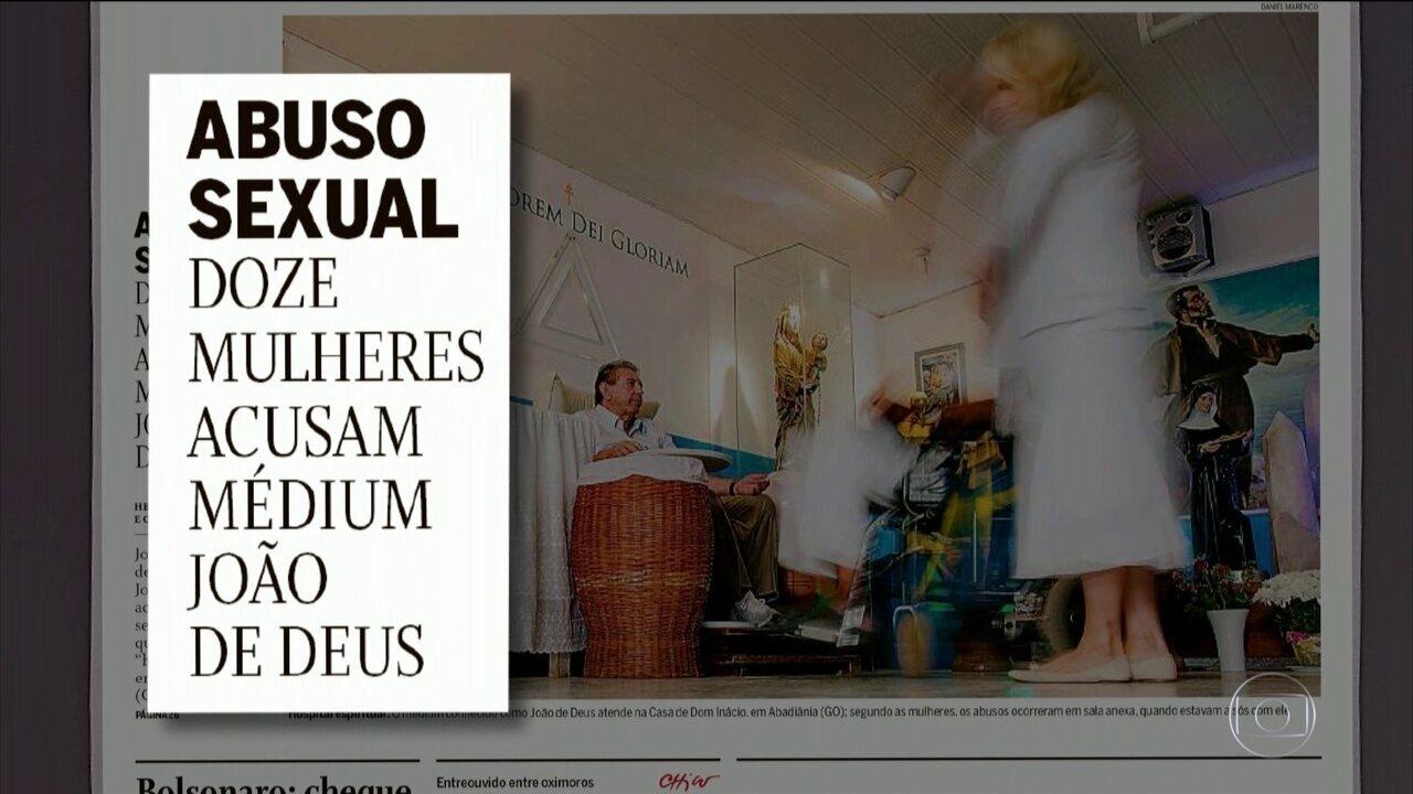 O Globo apura que outras mulheres denunciaram terem sido abusadas por João de Deus