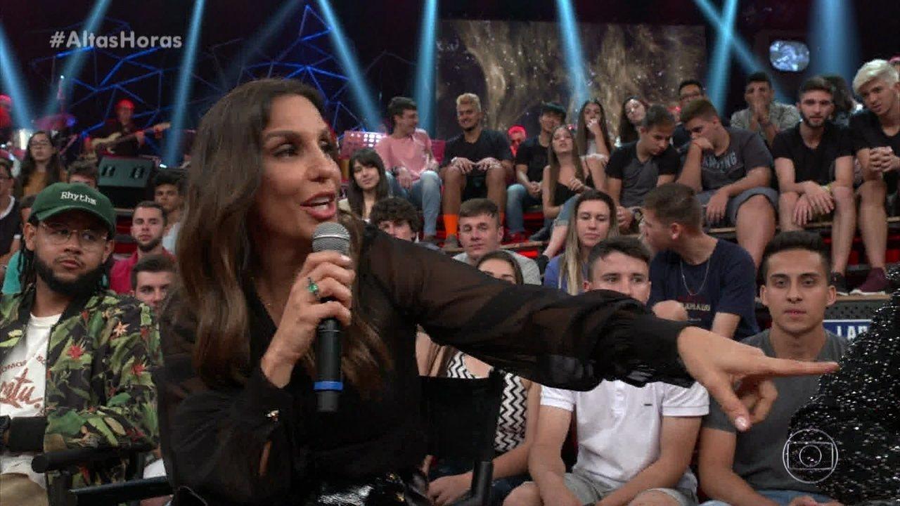 Ivete Sangalo canta 'Se Eu Não Te Amasse Tanto Assim' com convidados