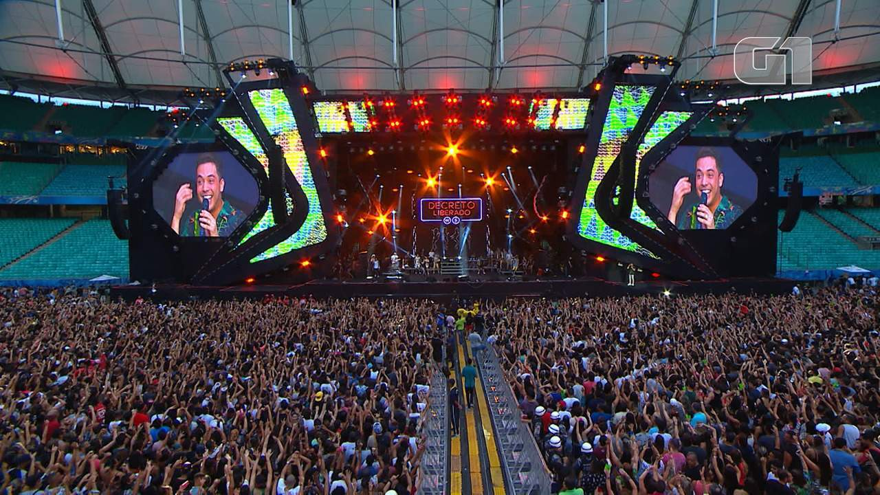 Veja os melhores momentos do show de Safadão no Festival de Verão