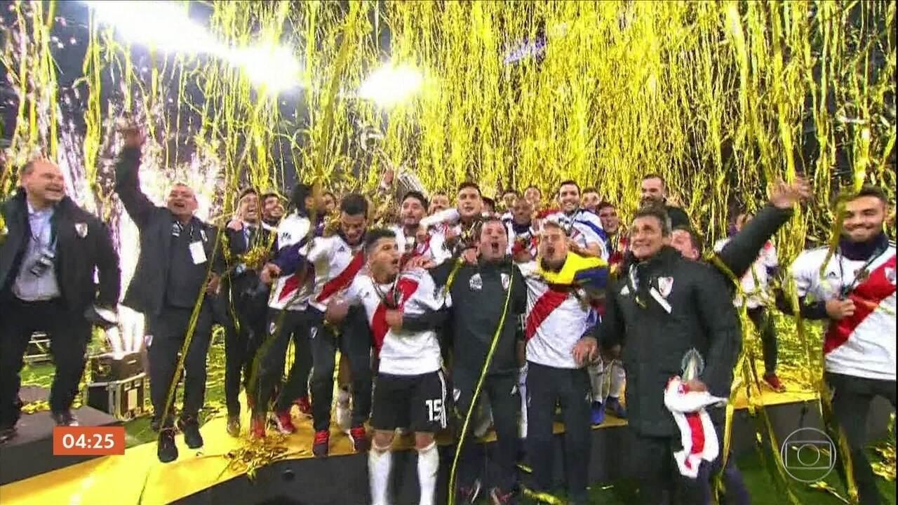 River Plate vence o Boca Juniors na prorrogação e conquista a Libertadores