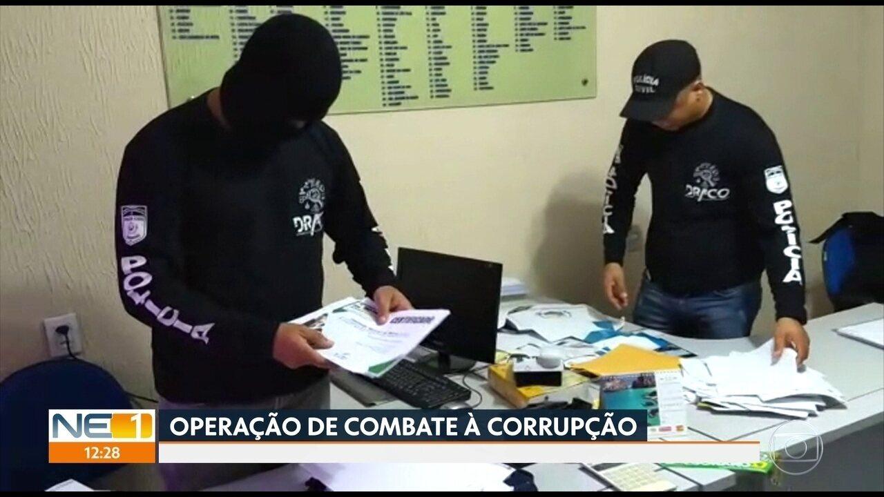 Polícia Civil faz operação para prender envolvidos em crimes contra administração pública