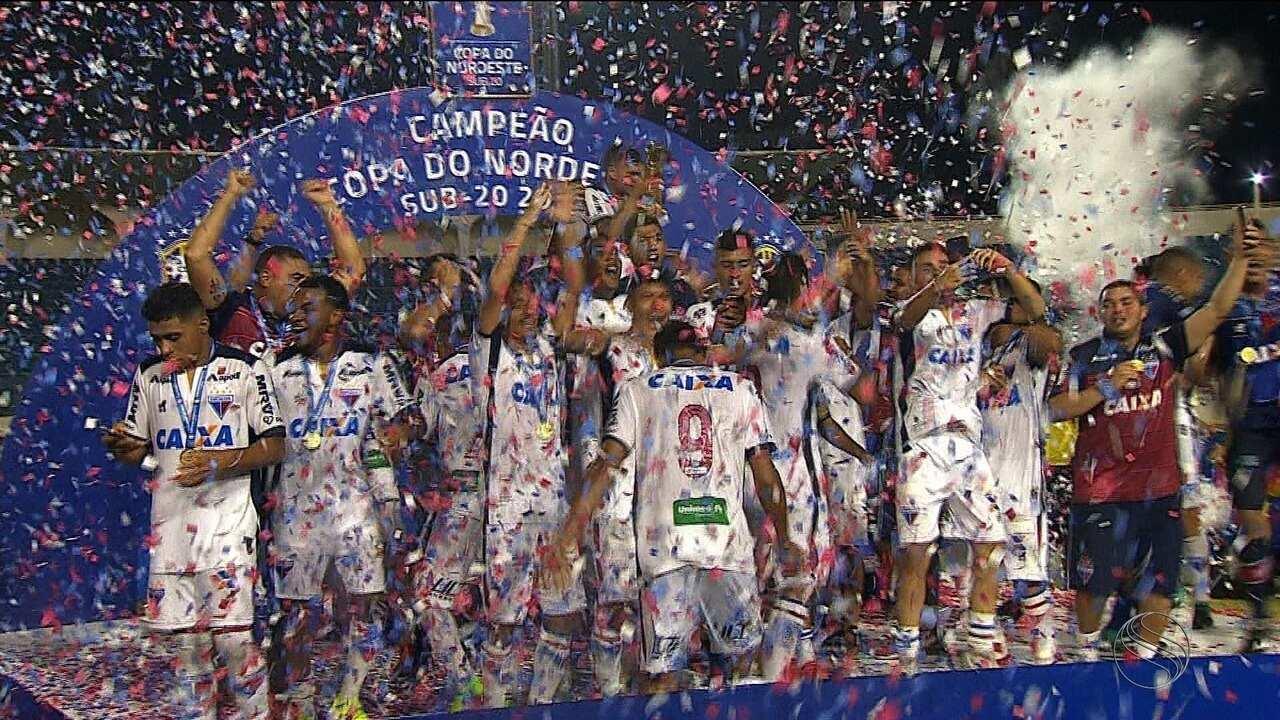 Fortaleza é o atual campeão da Copa do Nordeste sub-20