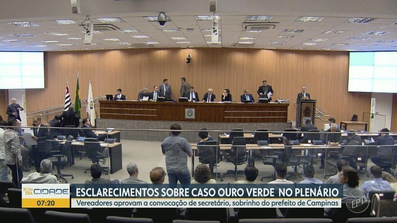 Comissão Processante aprova convocação de chefe de gabinete em Campinas