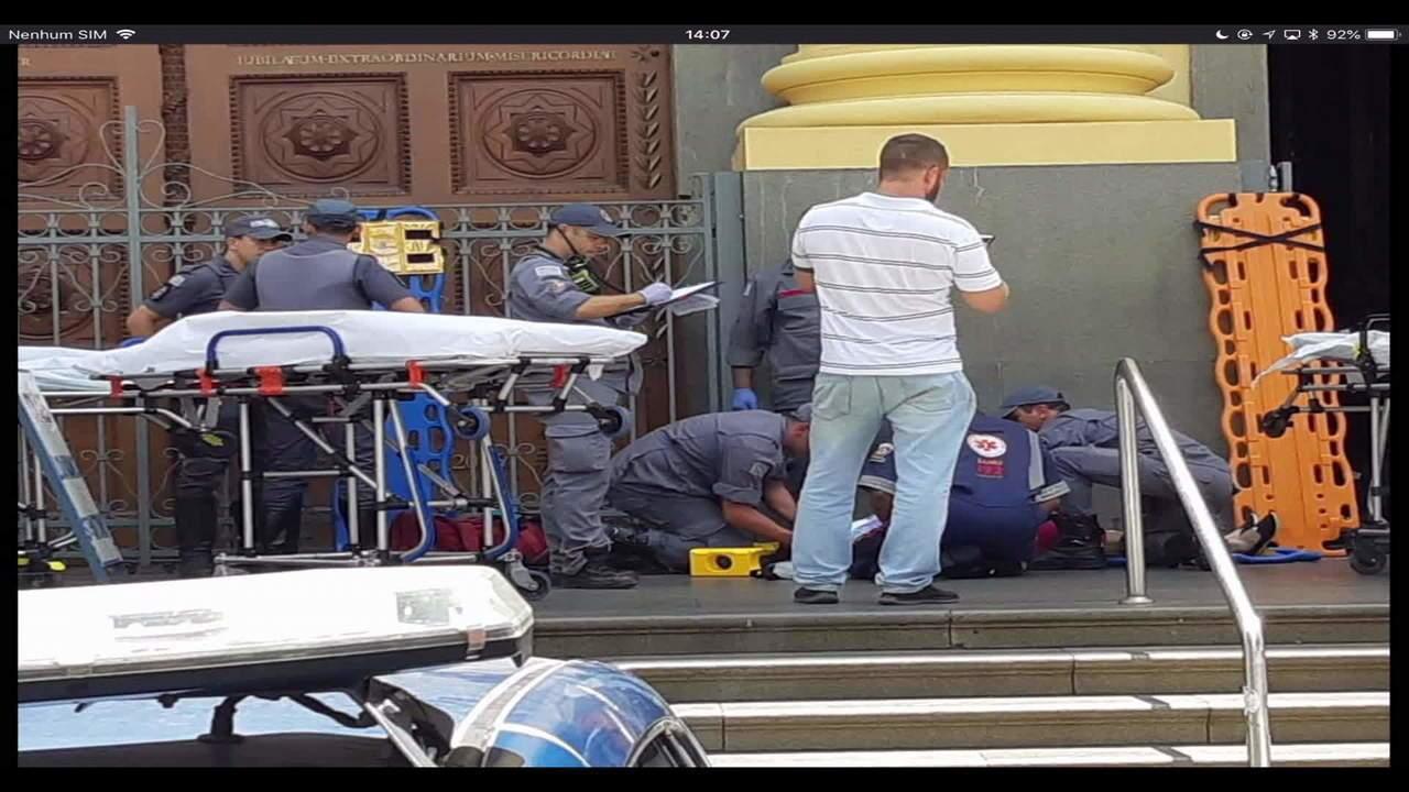 Homem abre fogo em catedral em Campinas, mata quatro pessoas e se suicida
