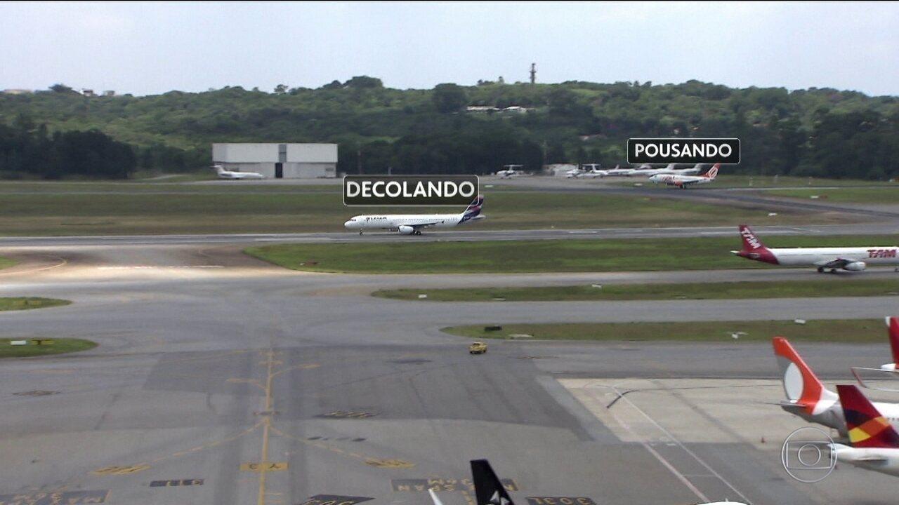 Aeroporto Internacional de São Paulo passou a operar pousos e decolagens ao mesmo tempo