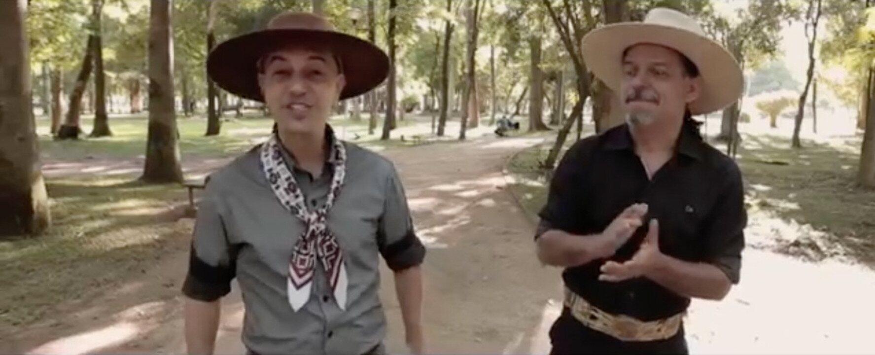 Neto Fagundes e Tchê Guri interpretam a canção Desejo e Fé