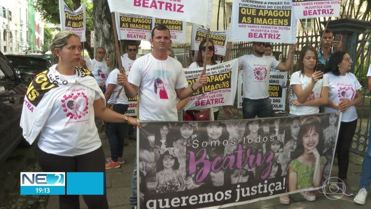 Caso Beatriz: Justiça decreta prisão de funcionário do colégio onde menina foi assassinada