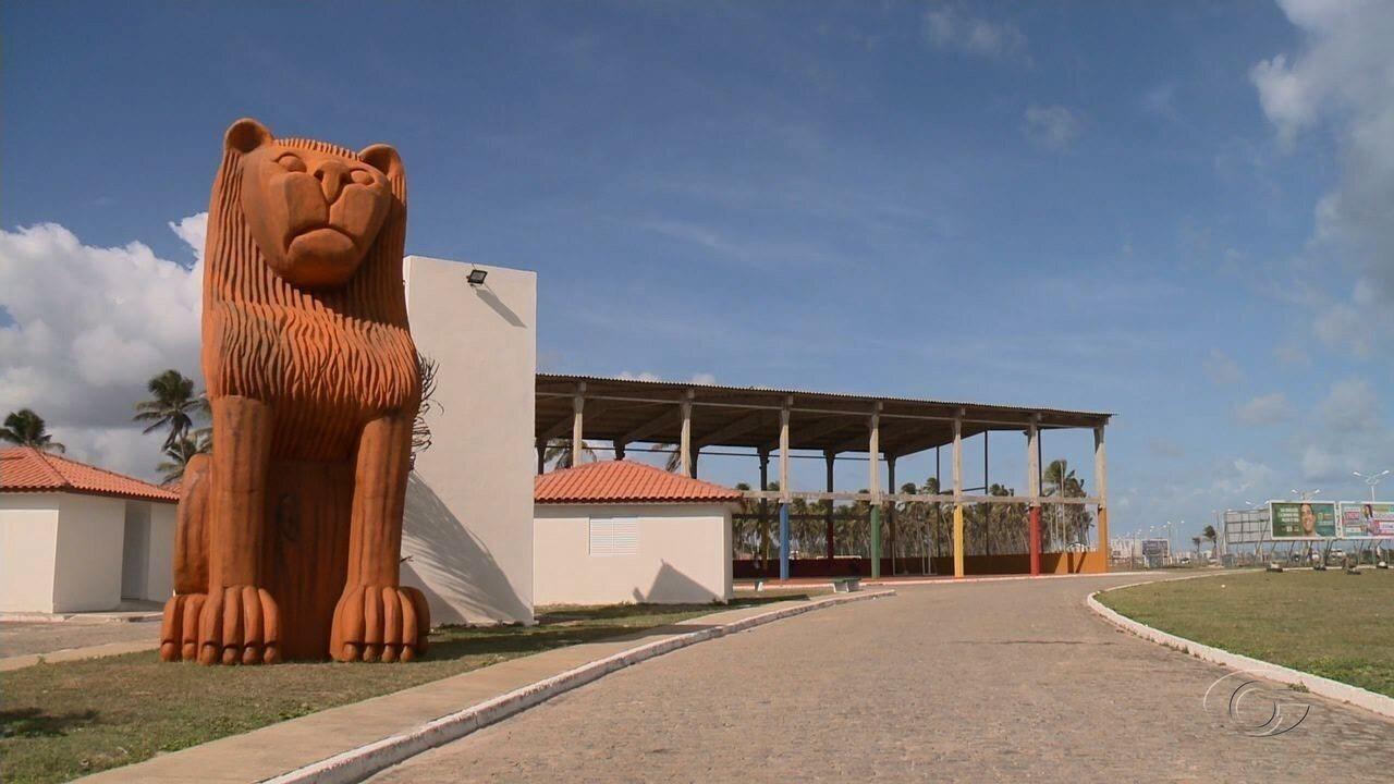 Três novas esculturas gigantes vão ser inauguradas na orla de Maceió