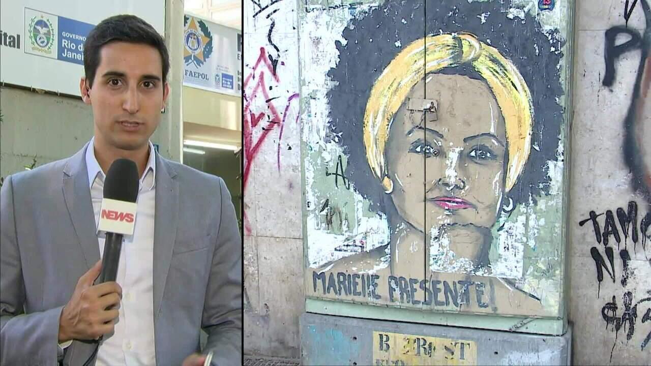 Polícia cumpre mandados de prisão relacionados com o caso Marielle Franco