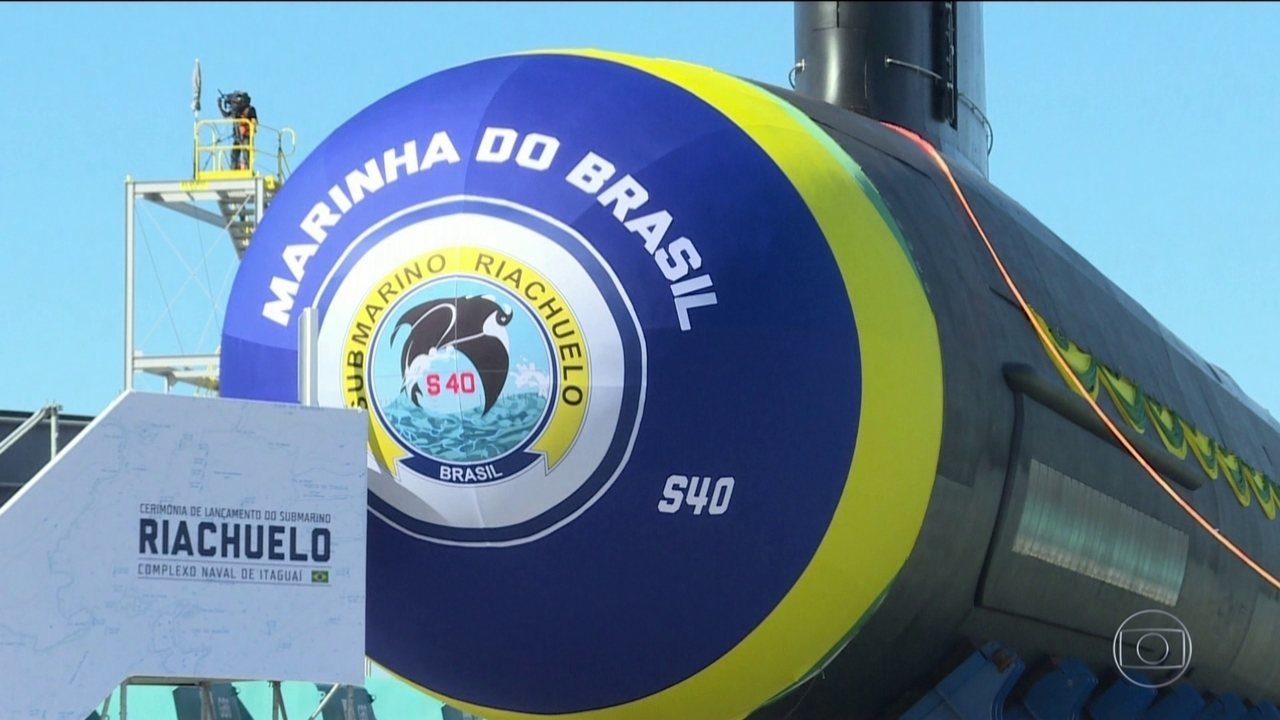d0df68ef2 Jair Bolsonaro participa do lançamento do novo submarino brasileiro