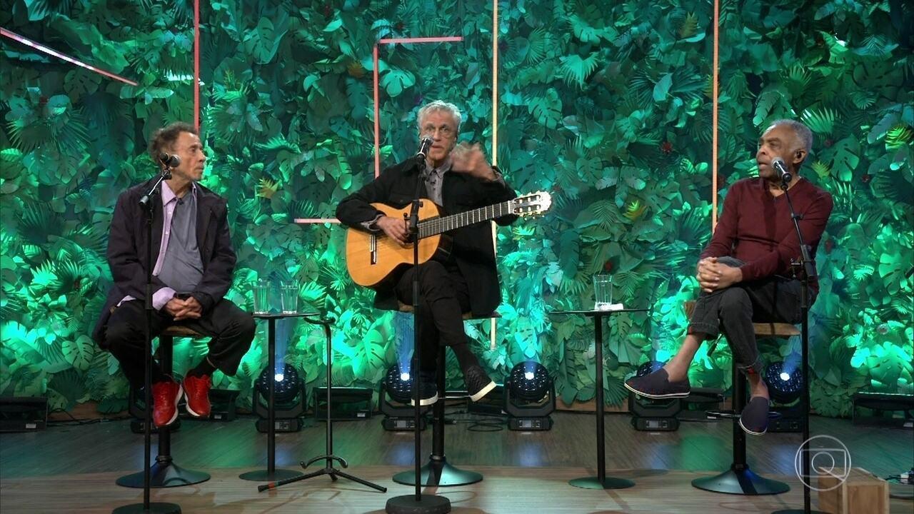 Caetano Veloso, Gilberto Gil e Tom Zé falam da morte de Vicente Celestino