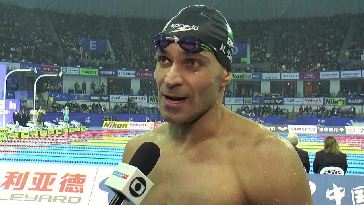 """Nicholas Santos festeja a medalha de ouro: """"2018 foi um ano sensacional"""""""