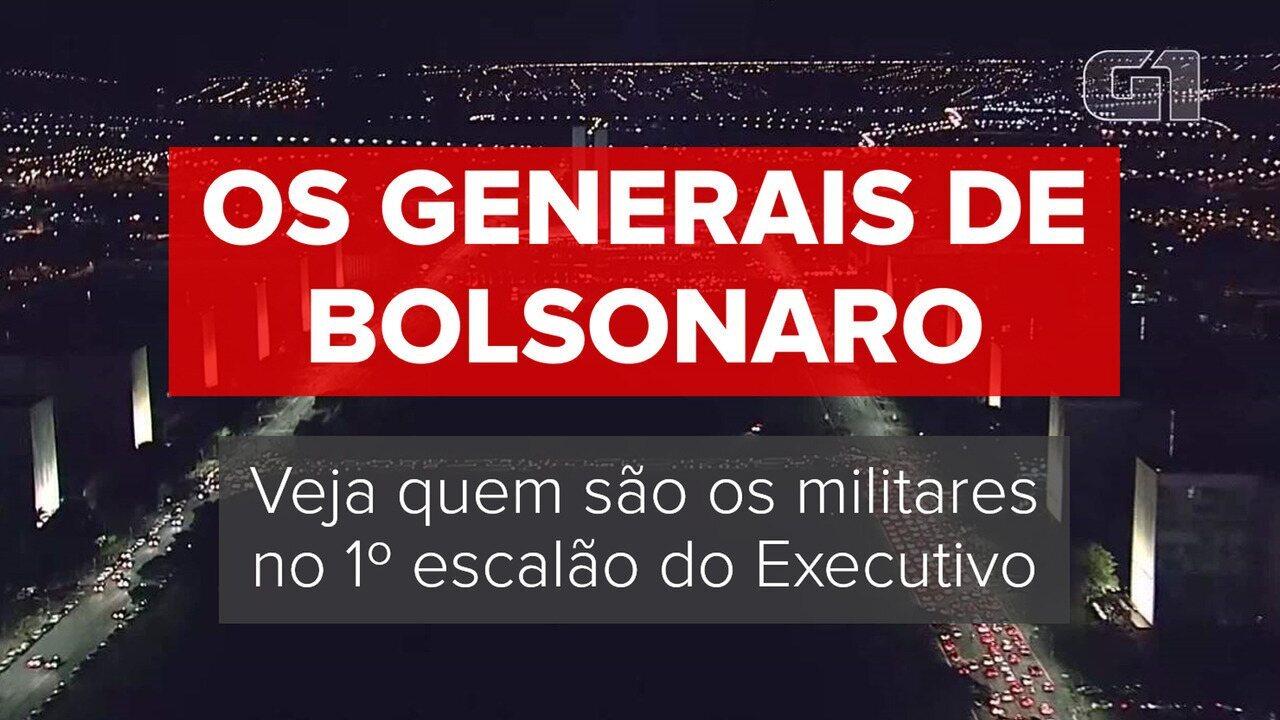 Os generais de Bolsonaro