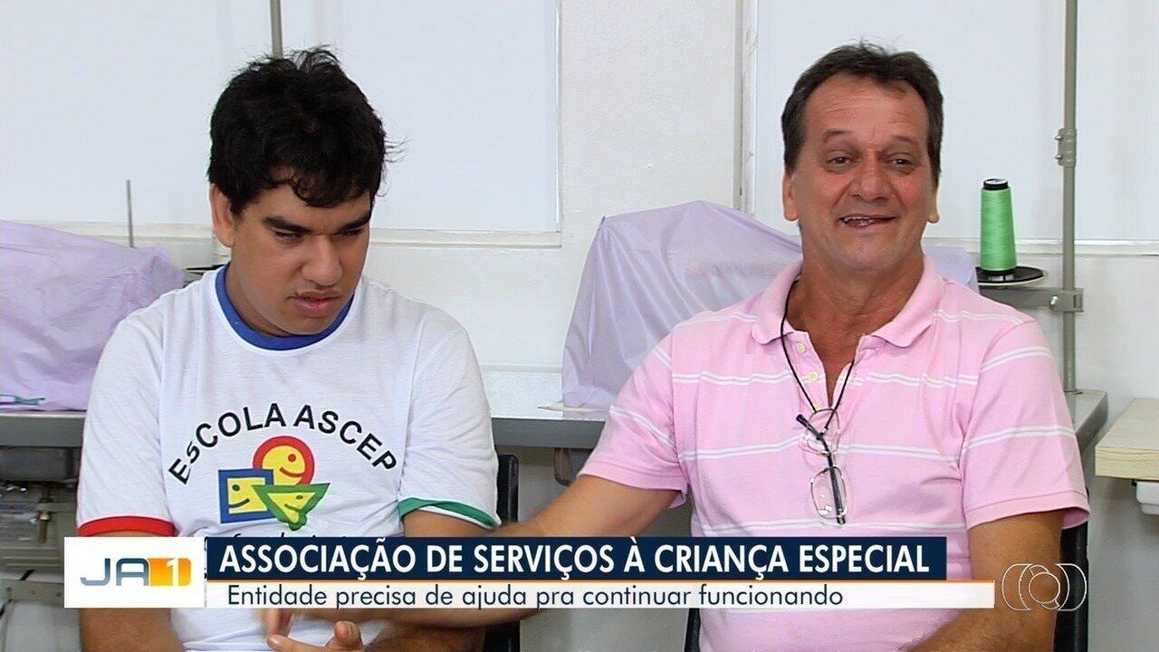 Veja como ajudar associação que assiste crianças especiais em Goiás