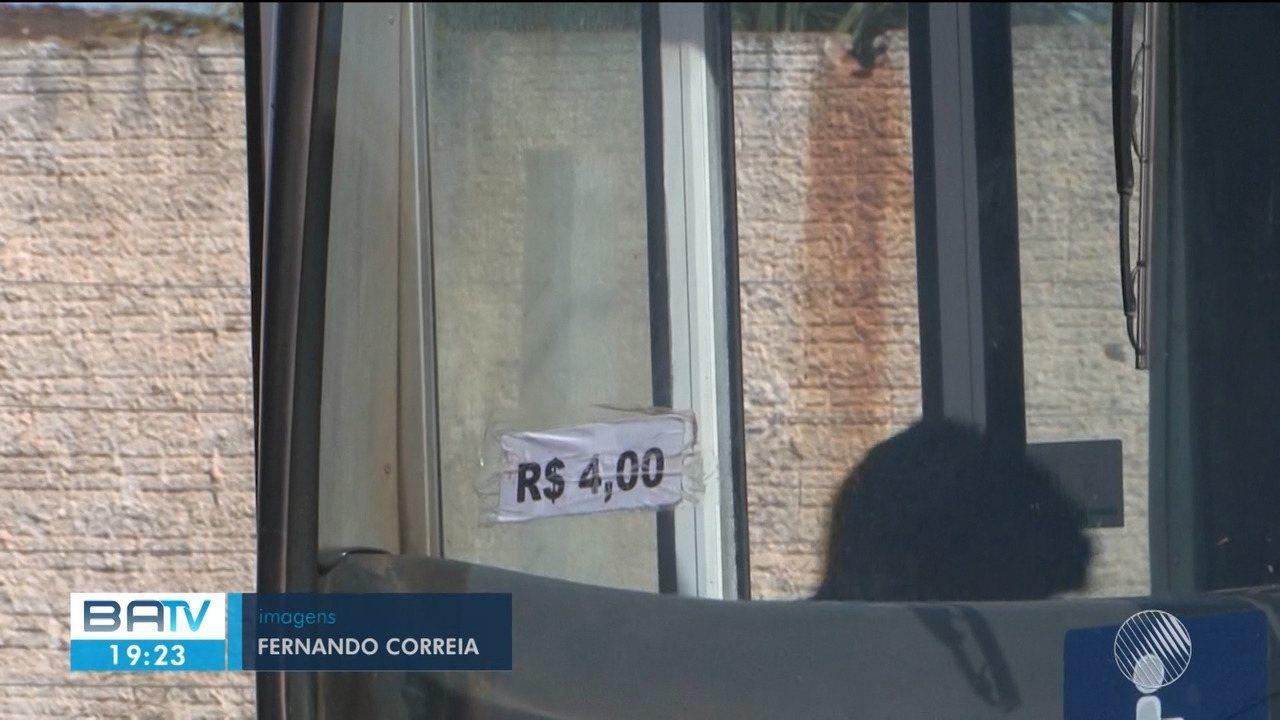 Moradores de Luís Eduardo Magalhães reclamam do aumenta da tarifa de ônibus