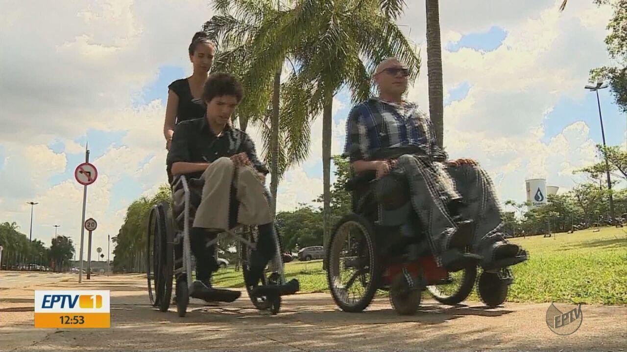 Resultado de imagem para Colegas fazem campanha para comprar perua para família com cadeirantes em Araras