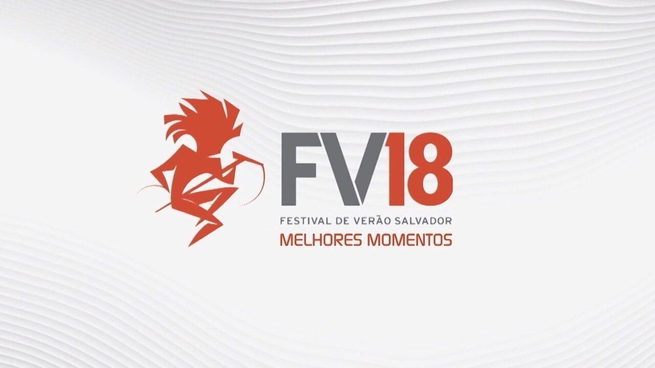 Especial 'Melhores Momentos do Festival de Verão Salvador 2018'