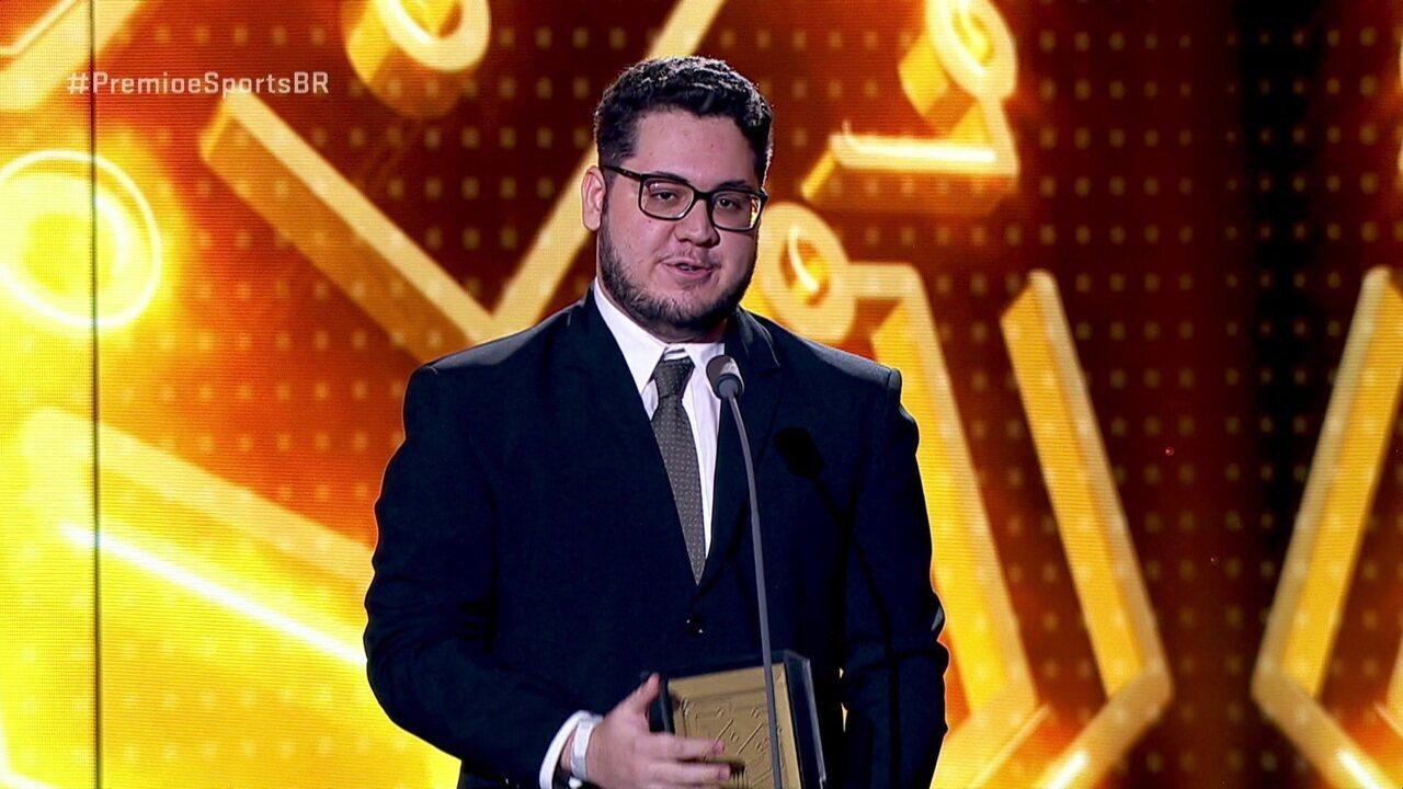 Paluh é eleito o atleta revelação no Prêmio eSports Brasil 2018