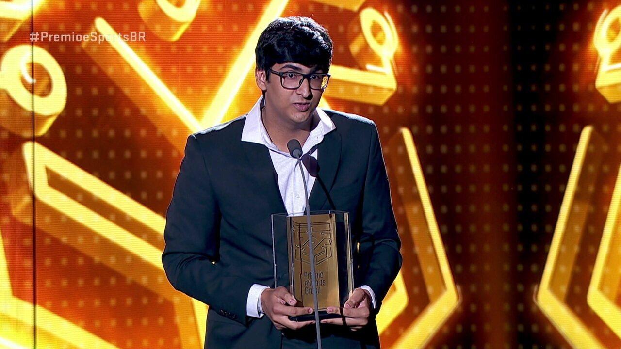 Liko é eleito o melhor atleta de overwatch no Prêmio e-Sports Brasil de 2018
