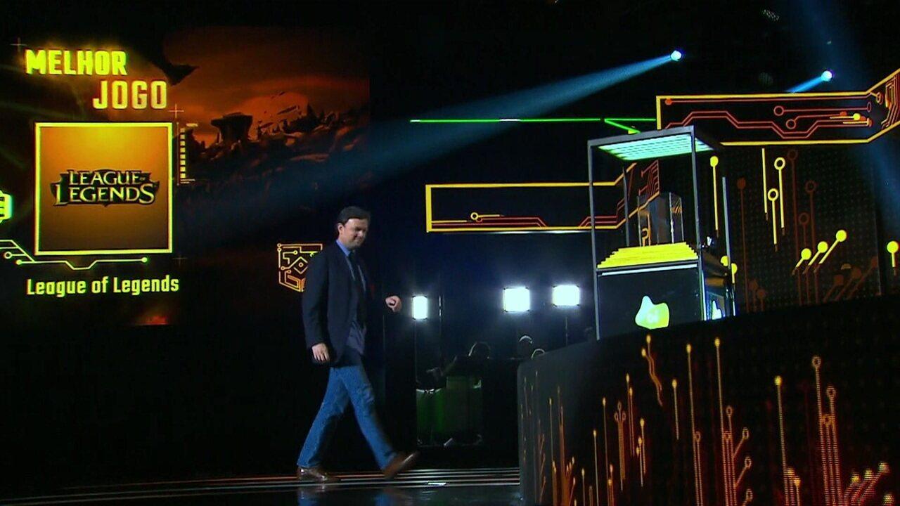 League of Legends é eleito o melhor jogo no Prêmio eSports Brasil 2018