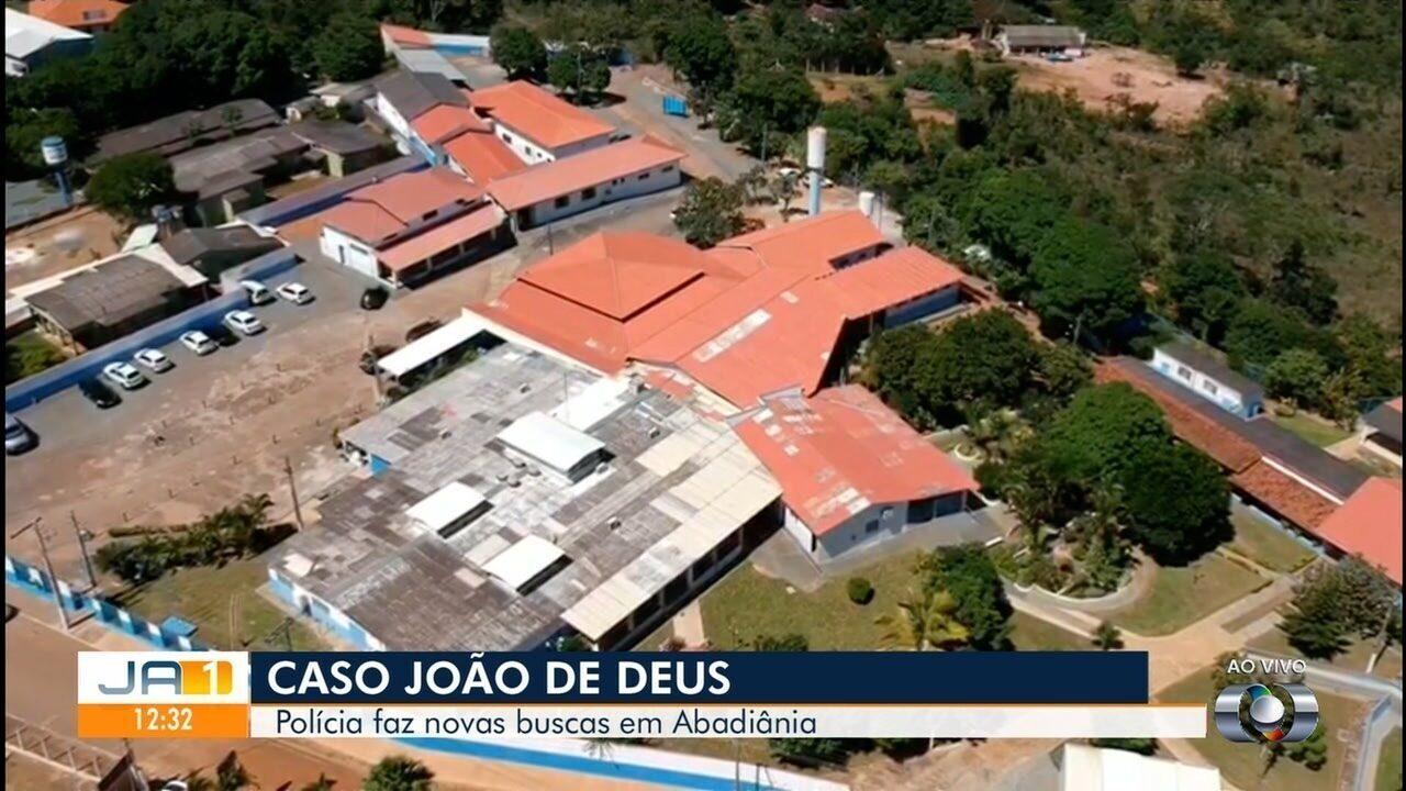 Polícia volta à Casa Dom Inácio de Loyola, onde João de Deus teria abusado de mulheres