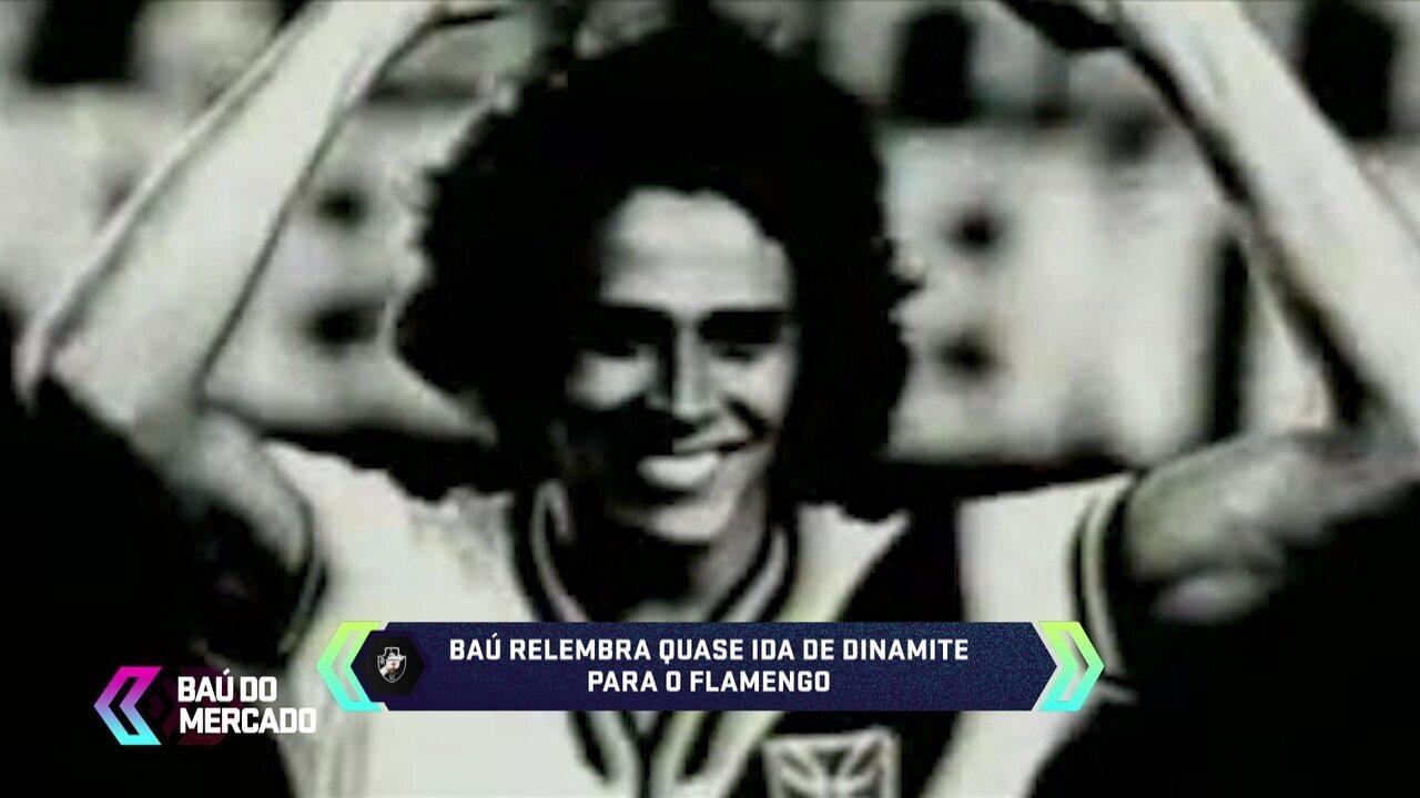 Baú do Mercado relembra a história de Roberto Dinamite, artilheiro do Vasco e com passagem pelo Barcelona