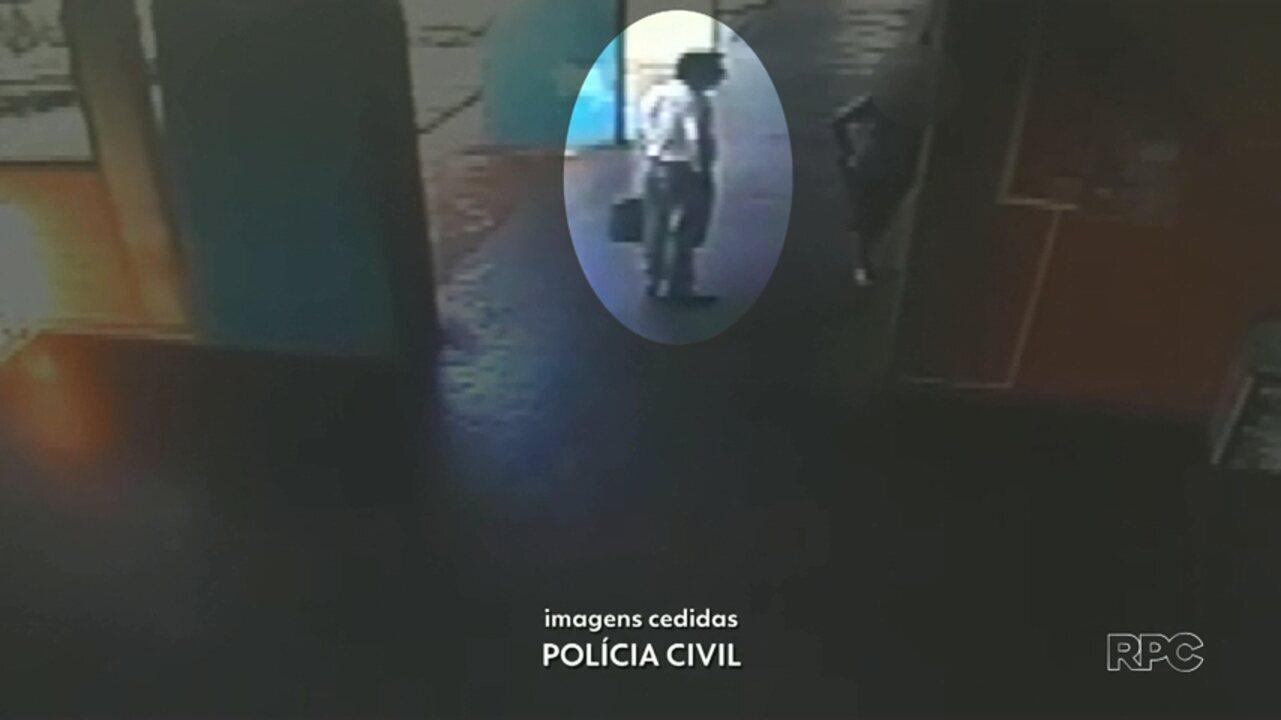 Câmeras de segurança mostram movimentação antes do assassinato do diretor da UENP