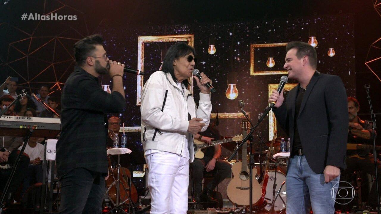 Marciano canta 'Ainda Ontem Chorei de Saudade' com convidados