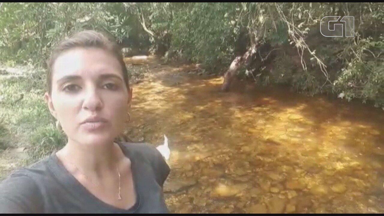 Repórter Graziela Fávaro atualiza buscas a desaparecidos em São João Batista do Glória