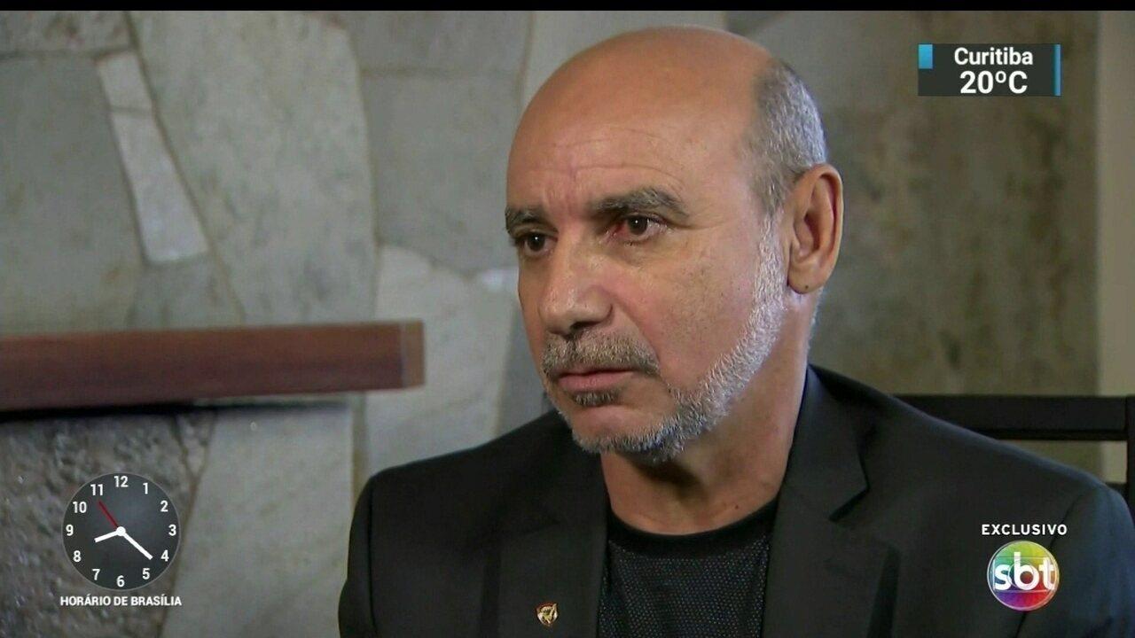 Fabrício de Queiroz, ex-assessor de Flavio Bolsonaro, fala pela primeira vez