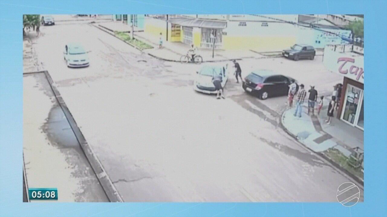 Homem que matou jardineiro após briga de trânsito se apresenta à polícia de MS