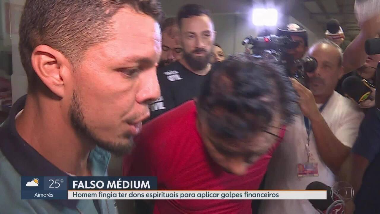 Falso médium é preso suspeito de aplicar golpes em Belo Horizonte