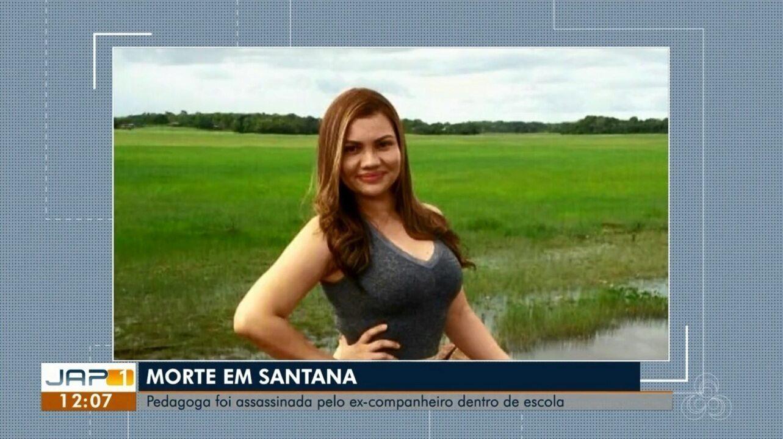 Homem mata ex-companheira e atira contra a própria cabeça dentro de escola em Santana