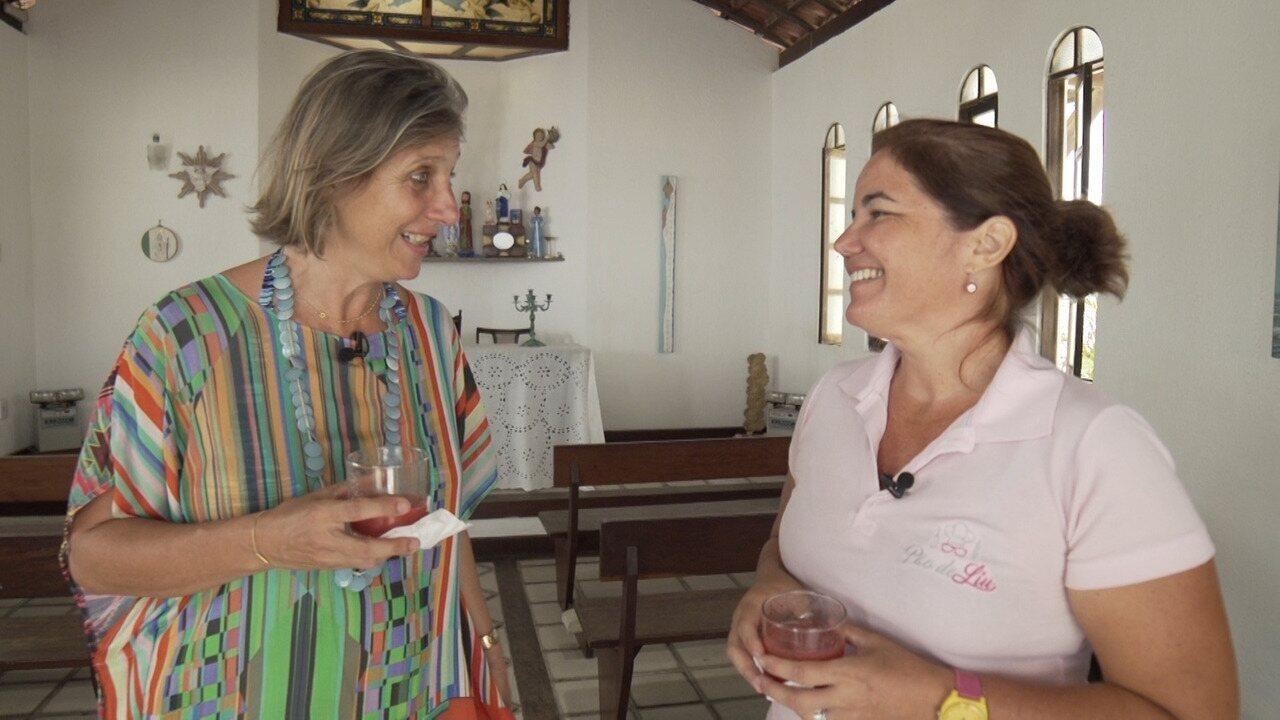 O programa promove um encontro entre duas jornalistas que recomeçaram suas carreiras