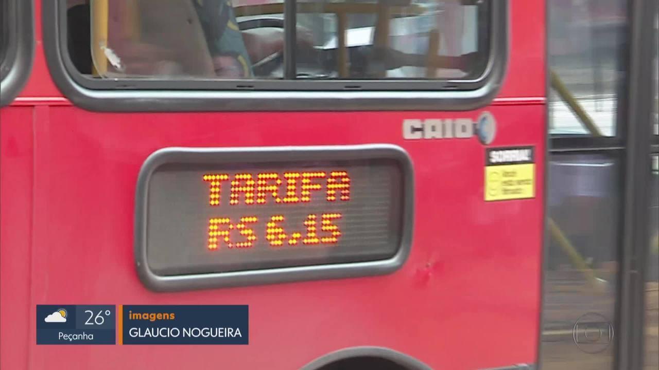Reajuste de passagens de ônibus intermunicipais e metropolitanos de BH passa a valer