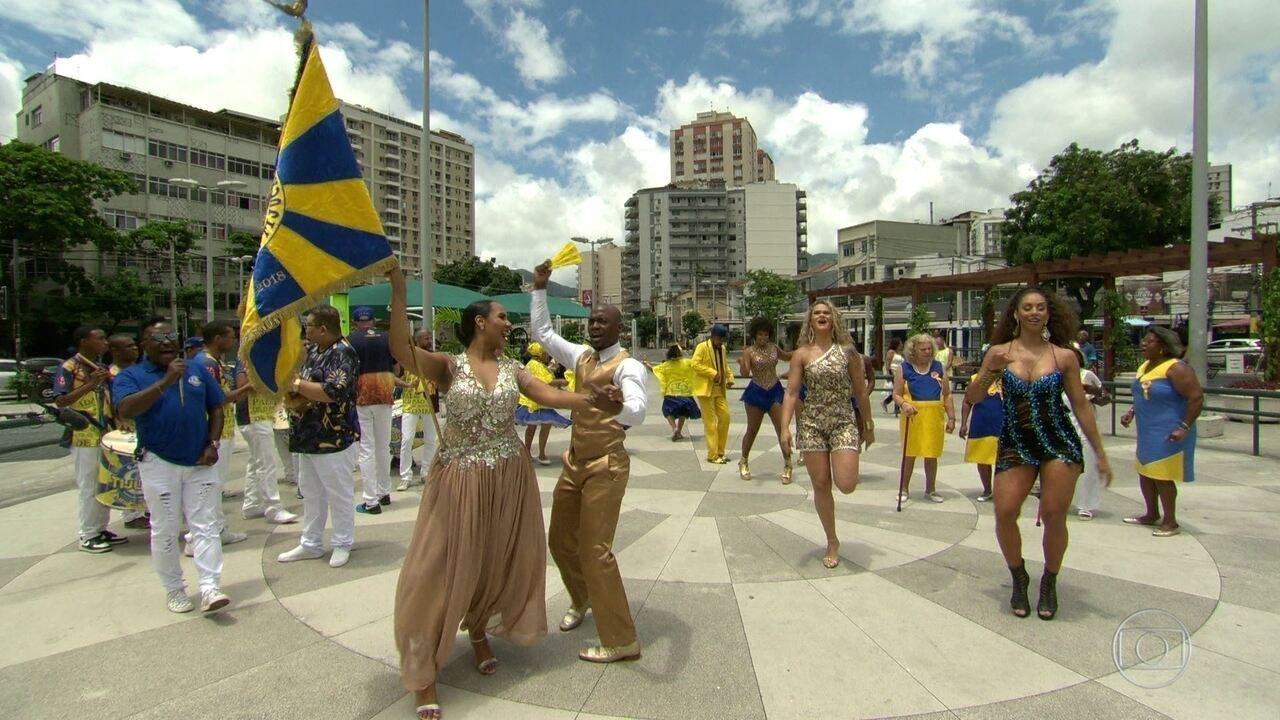Enredo e samba: Unidos da Tijuca conta a história do pão