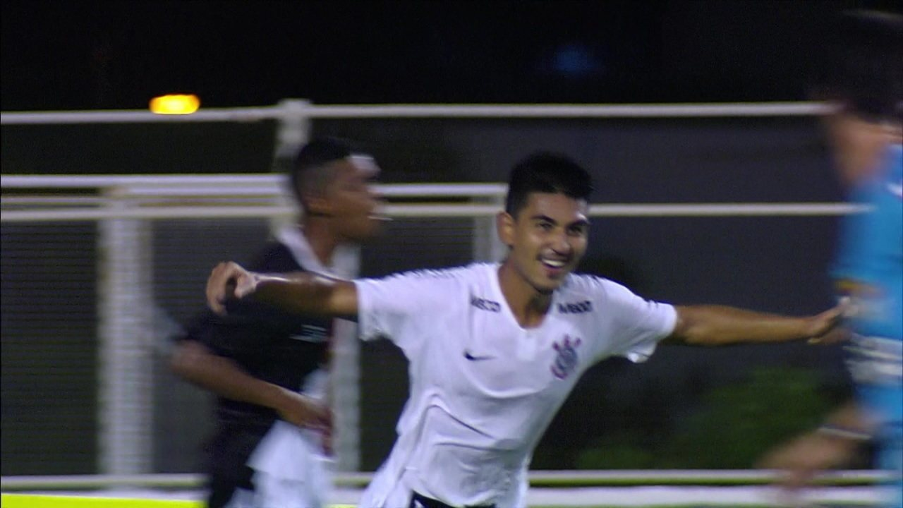 Os gols de Corinthians 3 x 2 Capital-TO pela Copa SP de Futebol Júnior 2019