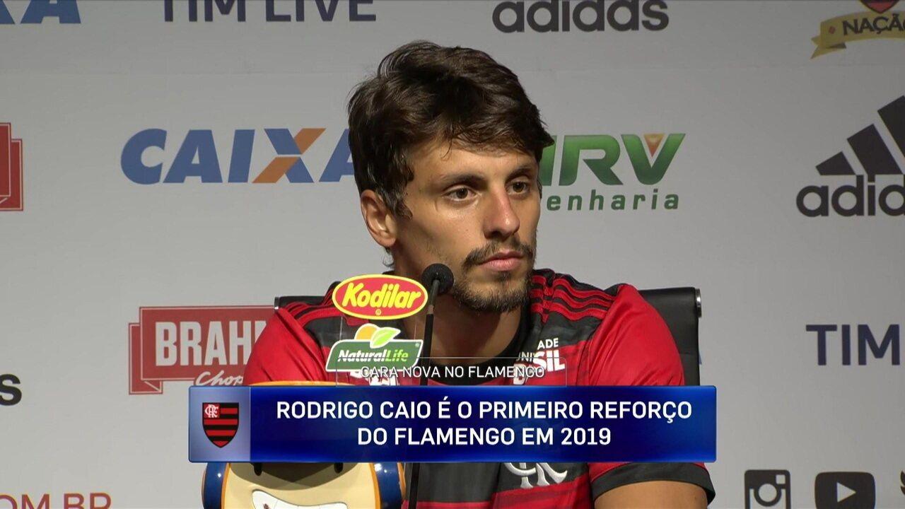 Rodrigo Caio quer